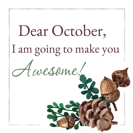 October is awesome