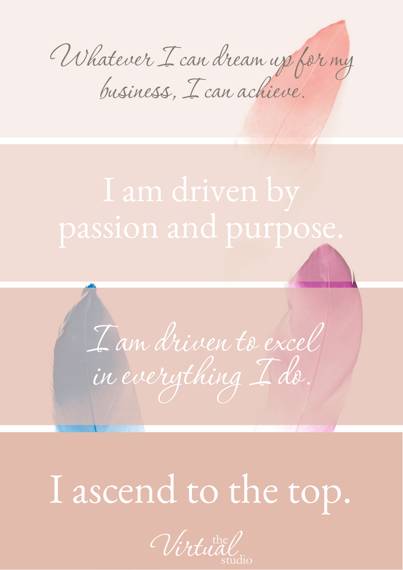 affirmations for biz