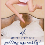 4 steps to getting up early