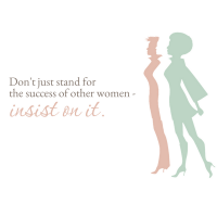 insist on the success of women