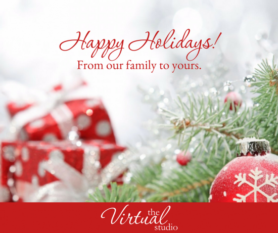 Happy Holidays from The Virtual Studio Family!