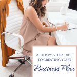 Step by step guide to writing your business plan
