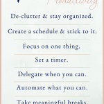 7 ways to boos your productivity