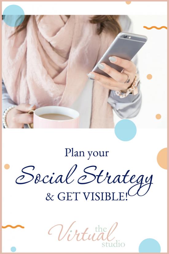 plan your social strategy