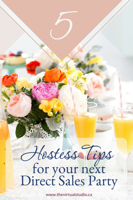 5 hostess tips for your next direct sales party