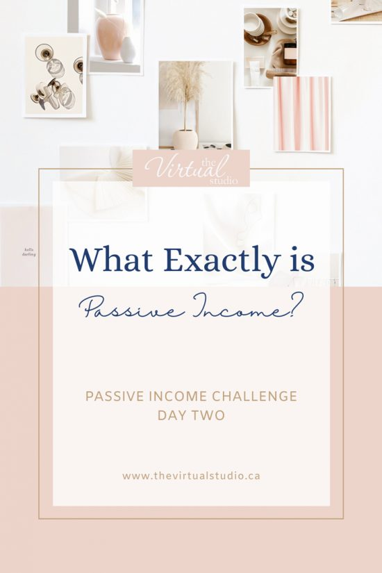 What exactly is passive income
