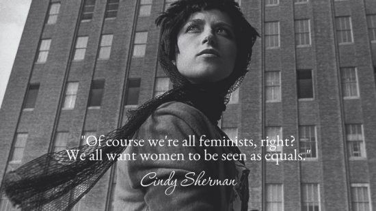 Inspiring Greatness: Cindy Sherman.