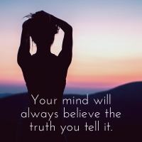 Your mind will always believe the truth you tell it. Vision boards will help you reach your goals