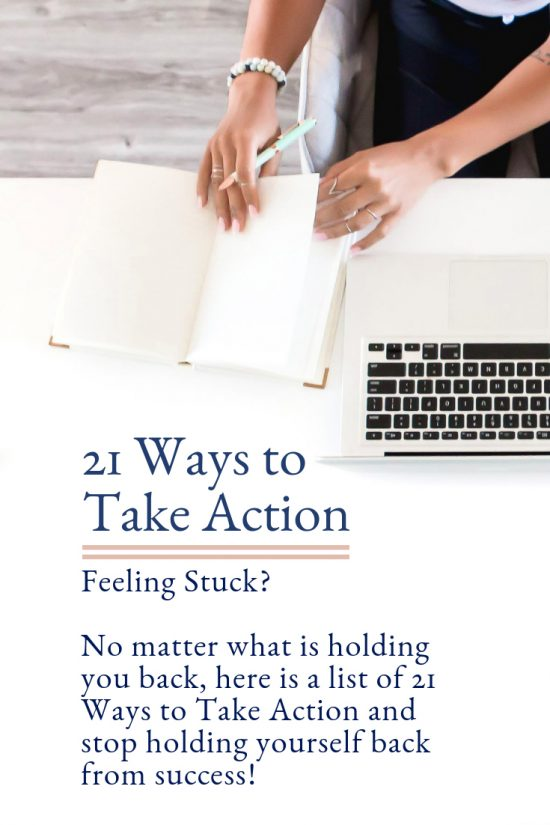 FREE - 21 Ways to Take Action