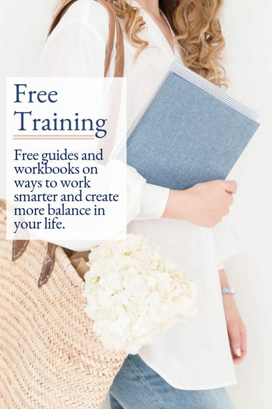 FREE Business Training Inside the Virtual Studio.