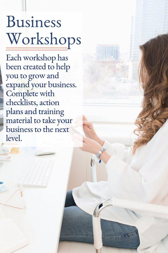 Business Workshops Inside the Virtual Studio.