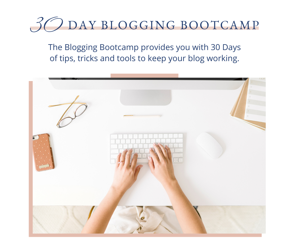 Start building your blog and your confidence online. 30 Days. 30 Tasks. One epic month of learning how to blog for your business.