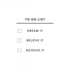 Top Ten Home Business Ideas for Parents to do list dream it believe it achieve it