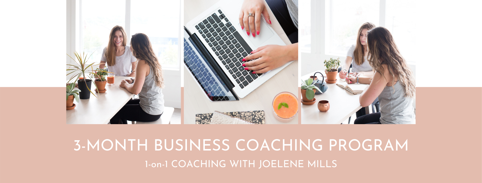 women working together in an office. One on one coaching with joelene mills