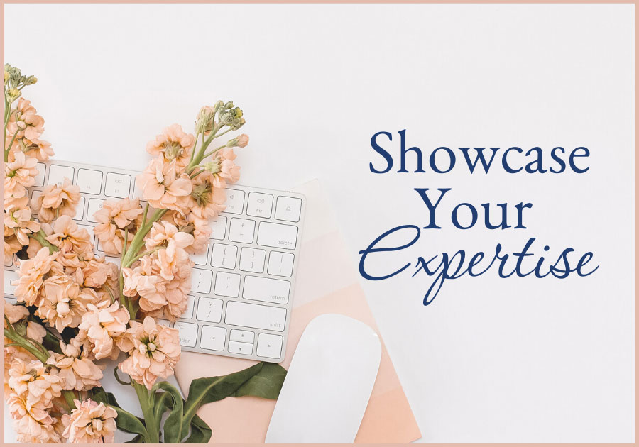 executive woman's office desktop mouse, keyboard and bouquet of flowers showcase your expertise, Work with me, one on one coaching with Joelene Mills