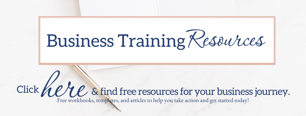 free business training resources to start your new business