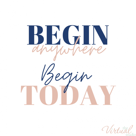 begin anywhere, begin today, leave the 9-5 business bundle