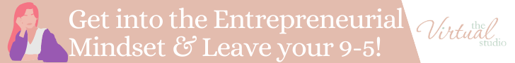 Get into the entrepreneurial mindset