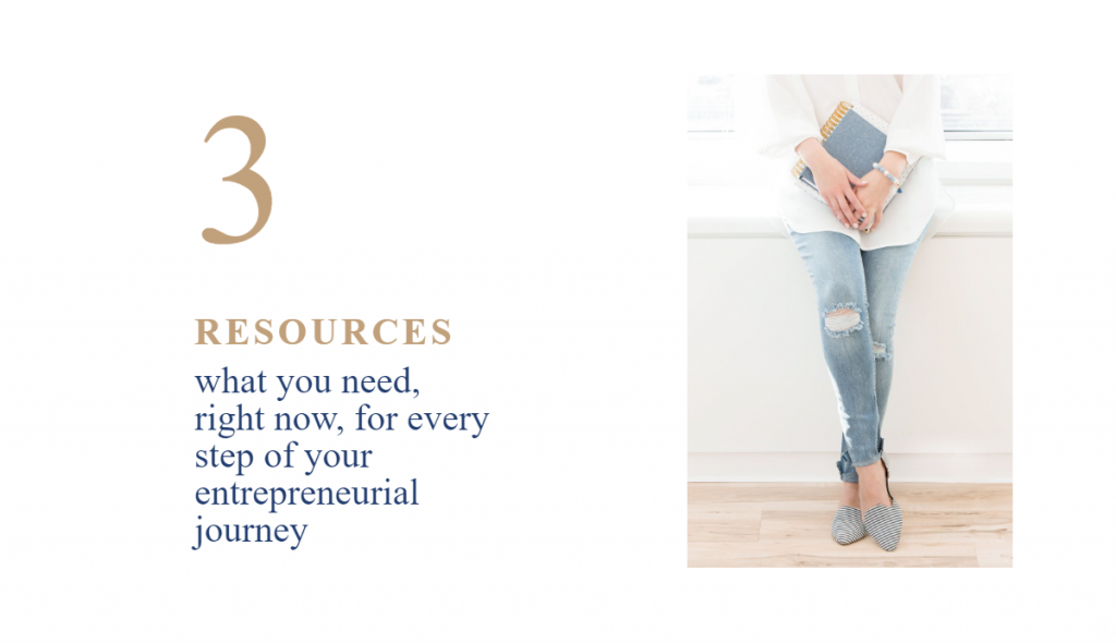 Thank you, for becoming an Insider, resources available what you need right now, for every step of your entrepreneurial journey, woman wearing jeans, standing and holding notebook