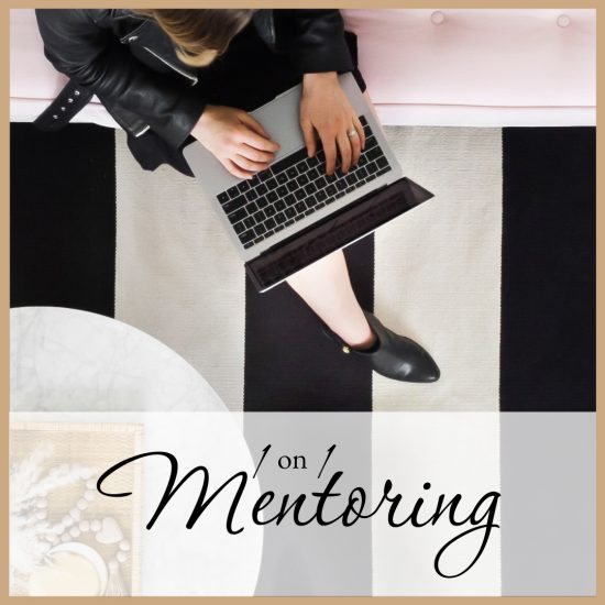 An executive woman sitting and talking 1 on 1 with business mentor joelene mills, starting your own business.