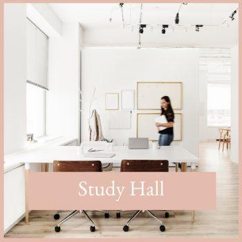 The virtual studio study hall
