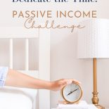 passive income challenge day 12 make time