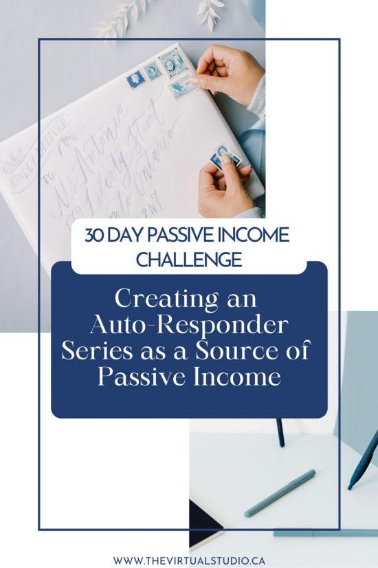 creating auto-responder series passive income challenge