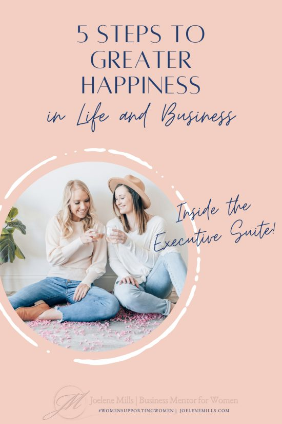 two women drinking wine, cheers, 5 steps to greater happiness